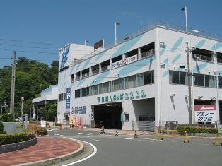 Isewan Ferry terminal in Toba