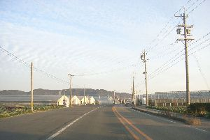 Houses of atsumi peninsula